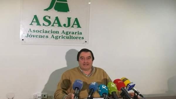 ÞÁngel García Blanco, presidente de Asaja Extremadura