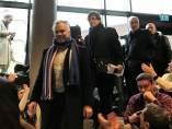 Acto de Carles Puigdemont en la Universidad de Copenhague (Dinarmarca)