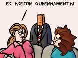 Asesor Gubernamental. La viñeta de Superantipático