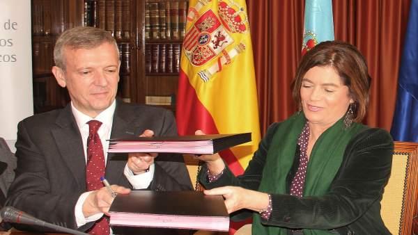 Xunta y Ministerio de Justicia colaboran