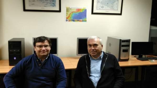 Imagen de los dos investigadores
