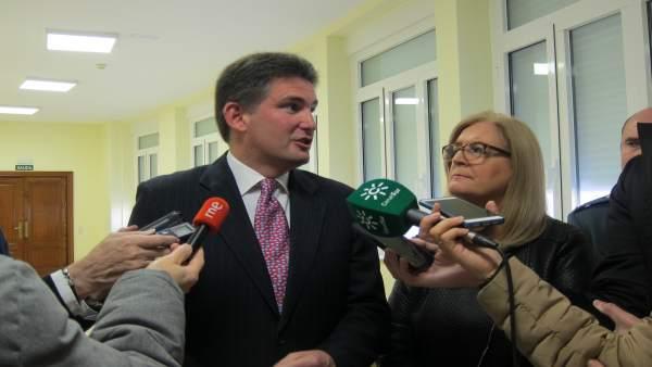 Ramírez y Molina informan sobre el Balance de Seguridad Vial 2017 en Jaén.