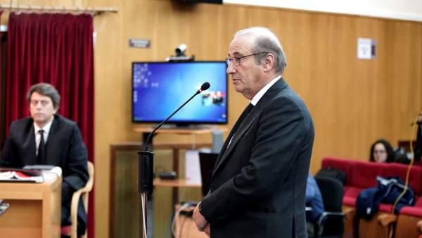 Francis Franco durante el juicio.
