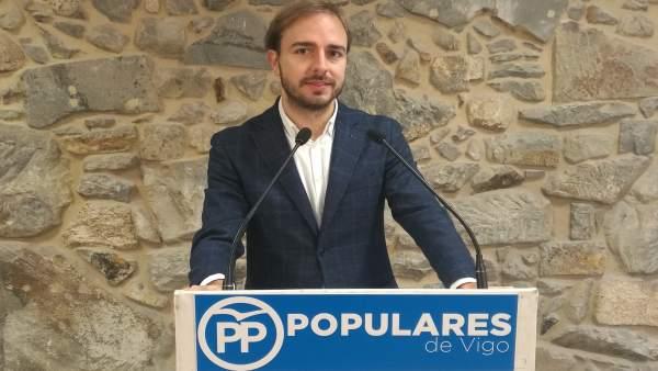Javier Dorado del PP de Vigo.