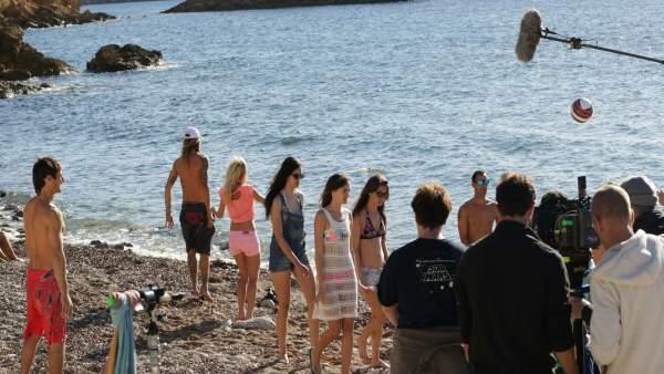 Un rodaje en Baleares