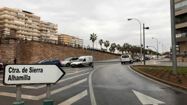 Notas Ayto. Almería (Y4) Embargadas Ofertas Obras Ampliación Ctra. Sierra Alhami