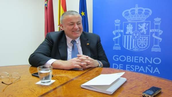 Delegado, Francisco Bernabé en entrevista Europa Press