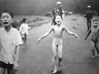 La foto más icónica de la guerra de Vietnam