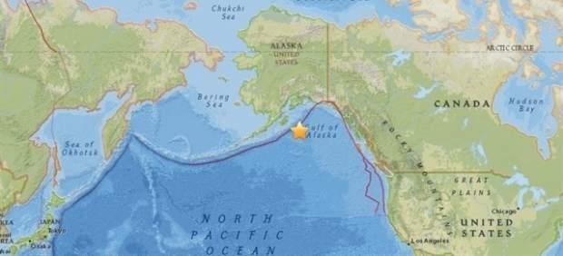 Alerta de tsunami en el Pacífico tras un terremoto de 8,2 grados en Alaska