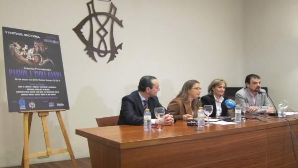 Ramón Sánchez Parra, Pilar Oliva, Chechu Romero y Pedro González