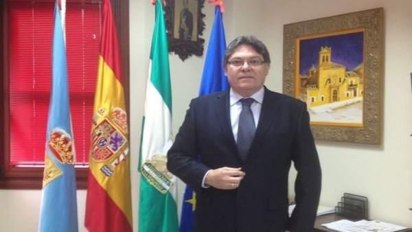 El alcalde de Albox, Pedro Mena (PSOE)