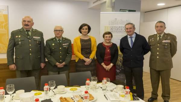 Presentación del III Congreso Internacional de Sanidad Militar