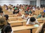 Estudiantes de selectividad