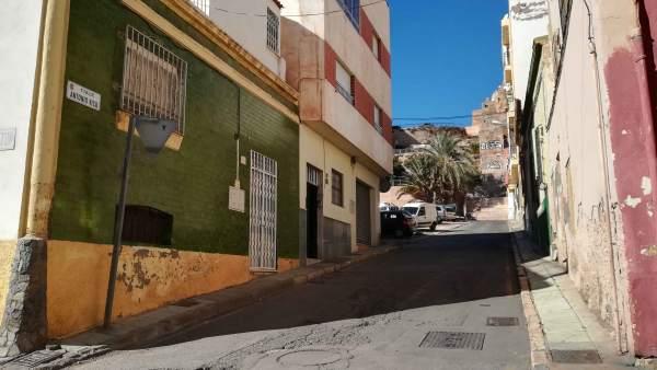 Calle Antonio Vico de Almería