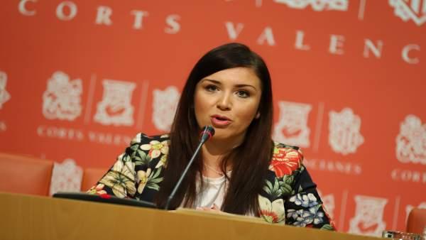 La portavoz de Ciudadanos, Mari Carmen Sánchez