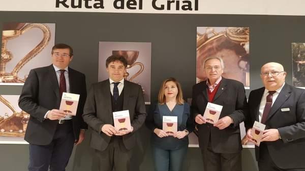 Exposición del Grial en el Corte Inglés de València