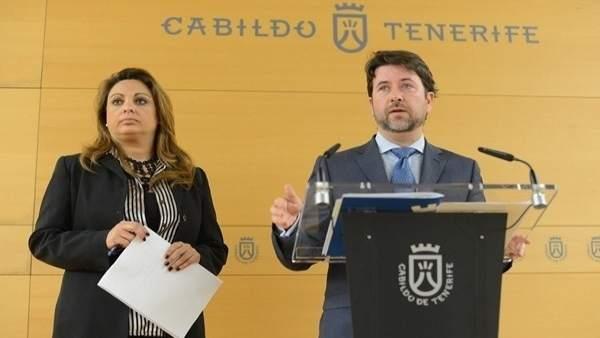 Cristina Valido y Carlos Alonso