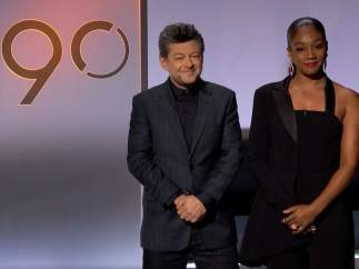 Andy Serkis y Tiffany Haddish