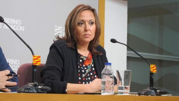 Consejera de Educación, Cultura y Deporte de Aragón, Mayte Pérez