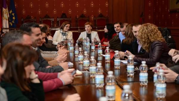 Reunión de la Junta en Loja