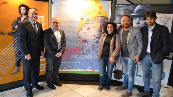 Presentación del Humans Fest en València