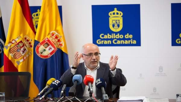 (Con Audio) Gran Canaria Se Opondrá Al Despliegue De Gas Ciudad Por Peligrosísim