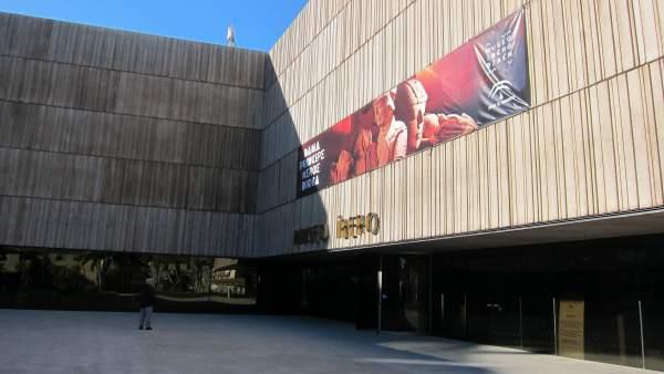 Exterior del Museo Íbero de Jaén.