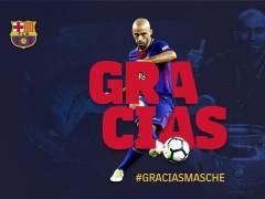 Mascherano deja el Barça casi ocho años después