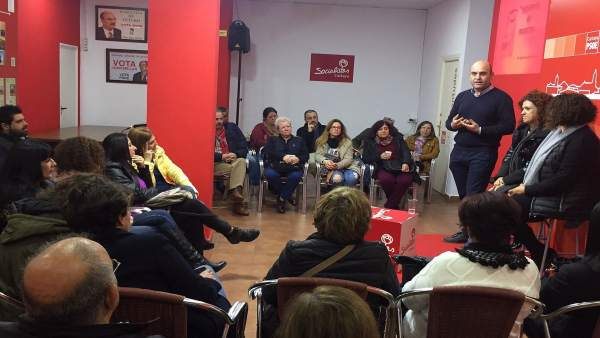 Consejo comarcal de Mujeres del PSOE, celebrado en Cartaya.