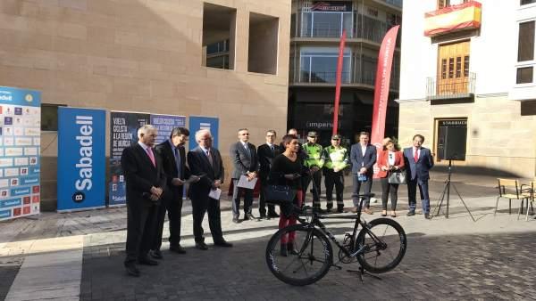 Presentación de la Vuelta Ciclista a la Región de Murcia