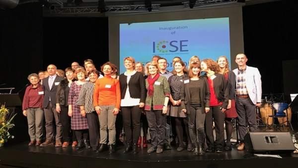 Miembros del nuevo centro internacional ICSE.