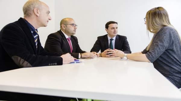 La Diputación ha participado en 70 reuniones profesionales en Fitur 2018.
