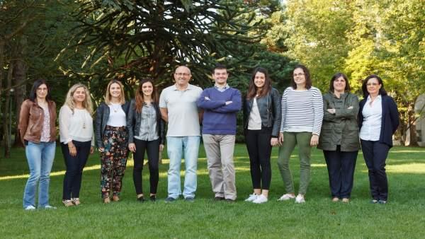 Reunión de los investigadores de las tres instituciones en la UPNA