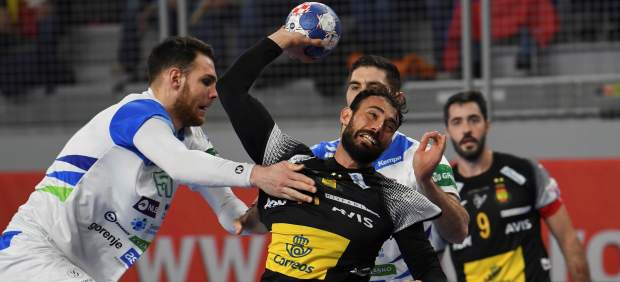 Dani Sarmiento, España de balonmano