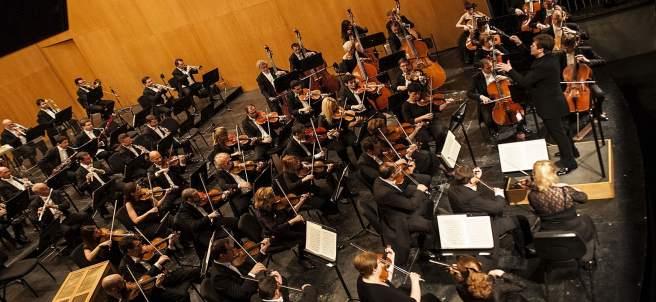 Orquesta filarmónica música clásica instrumentos musicales