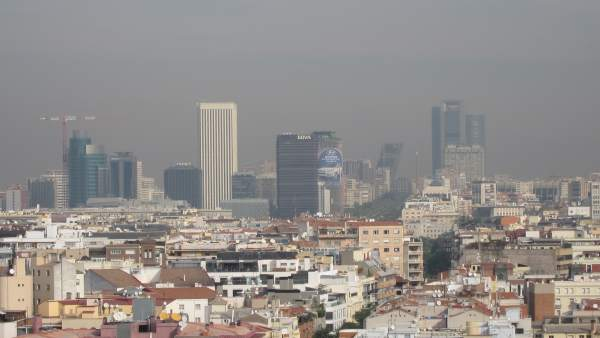 Contaminación Madrid