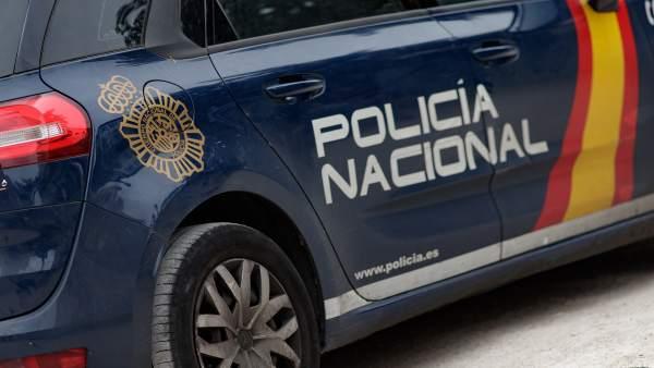 Vehículo policial. Archivo