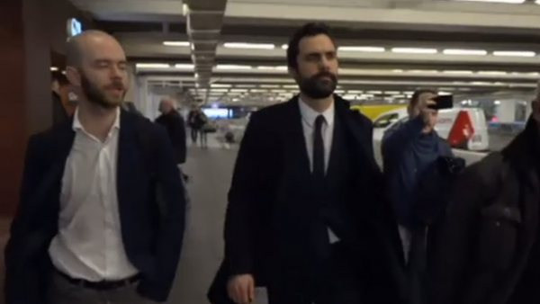 Roger Torrent, en Bruselas