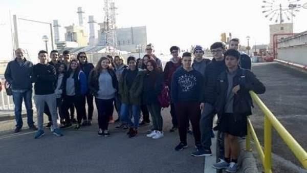 Visita de alumnos a Cas Tresorer