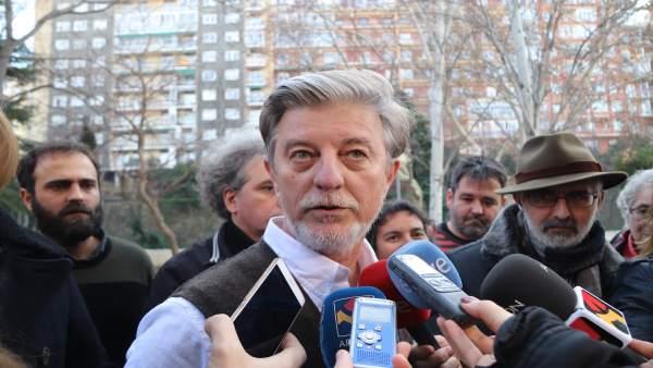 El alcalde de Zaragoza Pedro Santisteve.