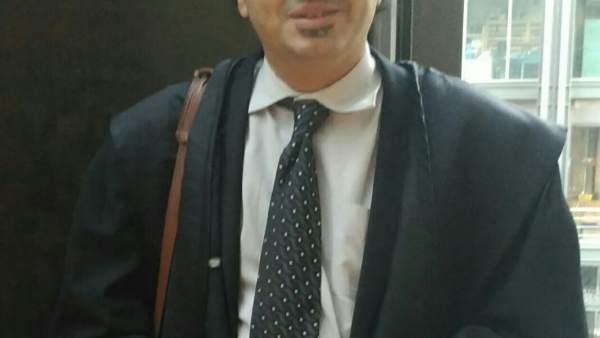 Iván Cortina, abogado del recluso