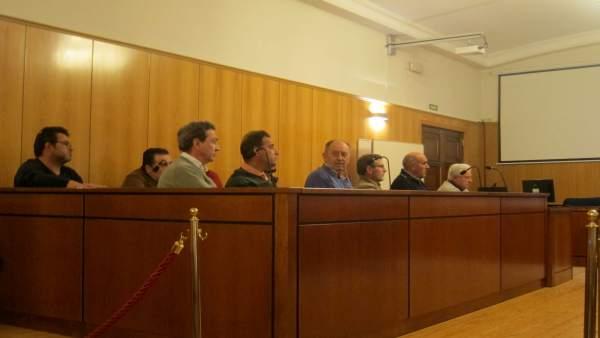 La Junta de Gobierno de la Comuidad de Regantes.