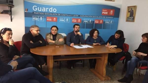 Reunión de Tudanca con colectivos y sindicatos