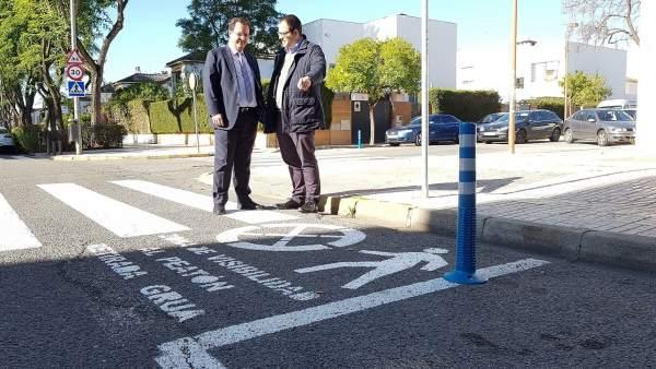 Campaña de mejora de seguridad en los pasos de peatones
