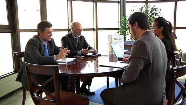 Reunión gobierno vasco con gobierno de castilla- la mancha