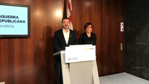 Alfred Bosch, Trini Capdevila, ERC