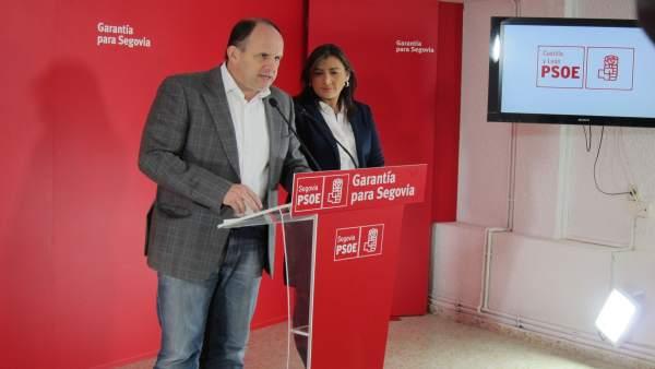 José Luis Aceves y Ana Sánchez