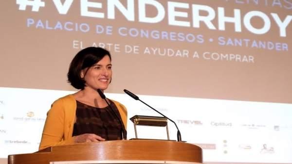 Gema Igual, alcaldesa de Santander