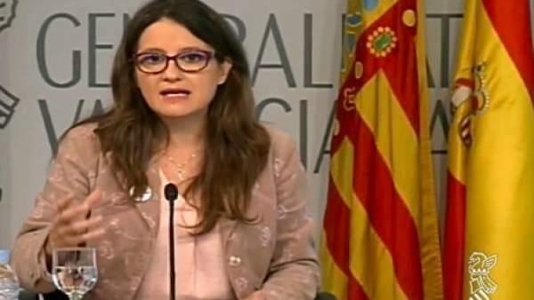 """Oltra: """"Ara a vore quant tardem a saber que també Rajoy movia els fils a nivell d'Espanya"""""""