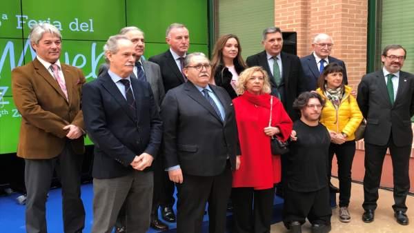 Inauguración de la Feria del Mueble en Feria de Zaragoza